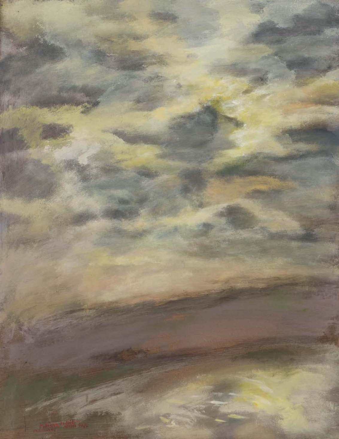 Wolkenbild Haindling, 1984