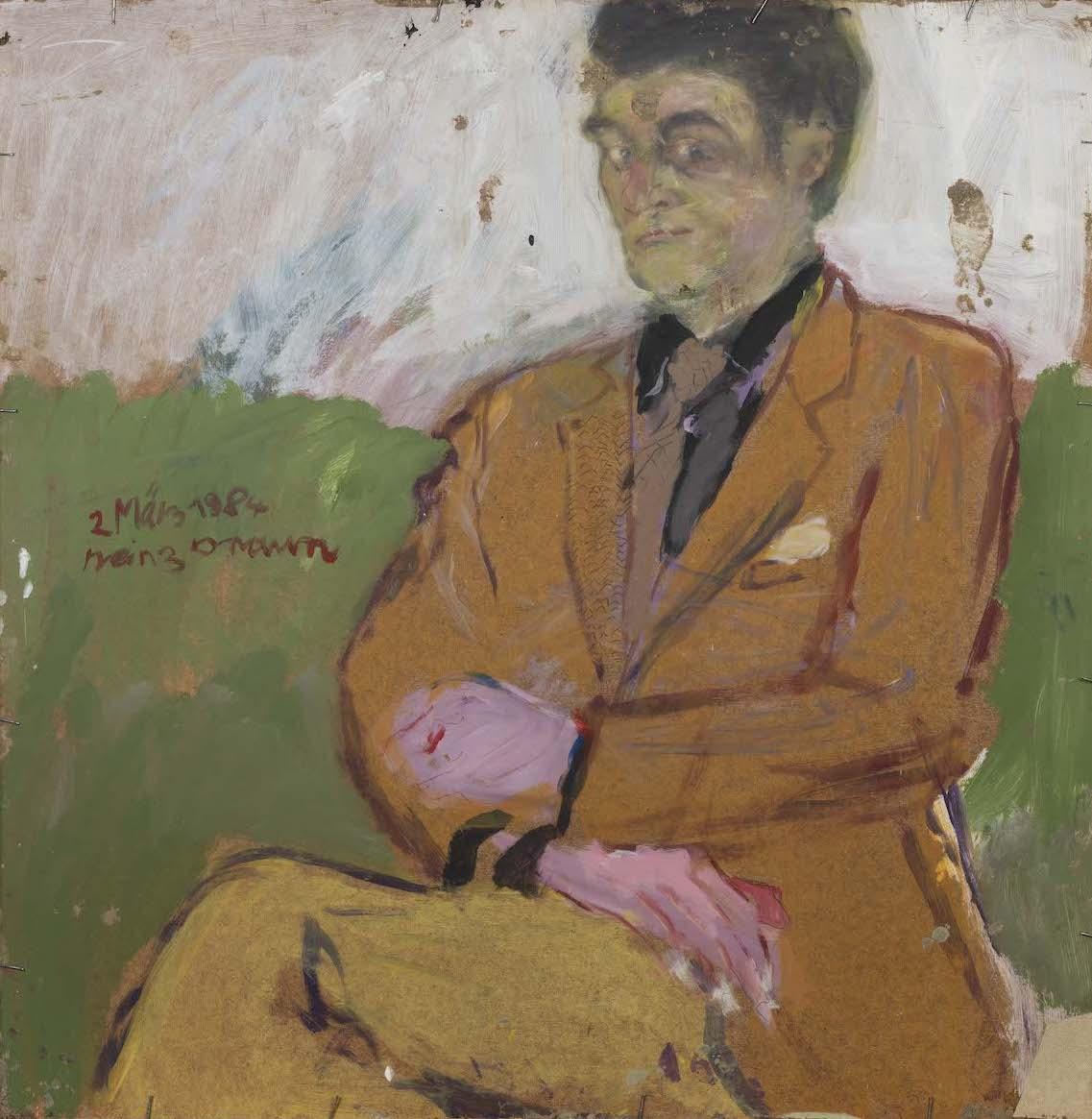 Porträt Mann, 1984