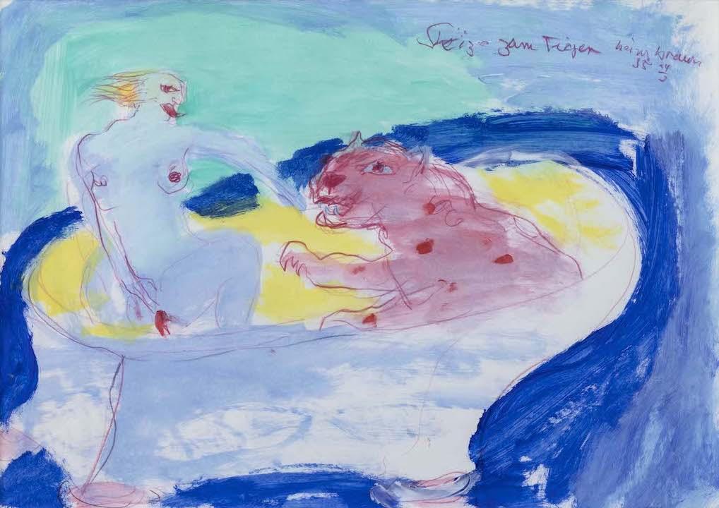 Skizze zum Tiger, 1985