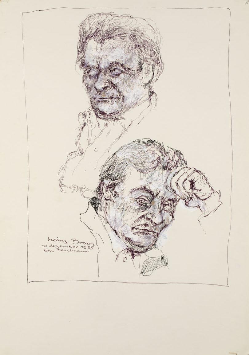 Skizze, Tim Thielmann, 1985