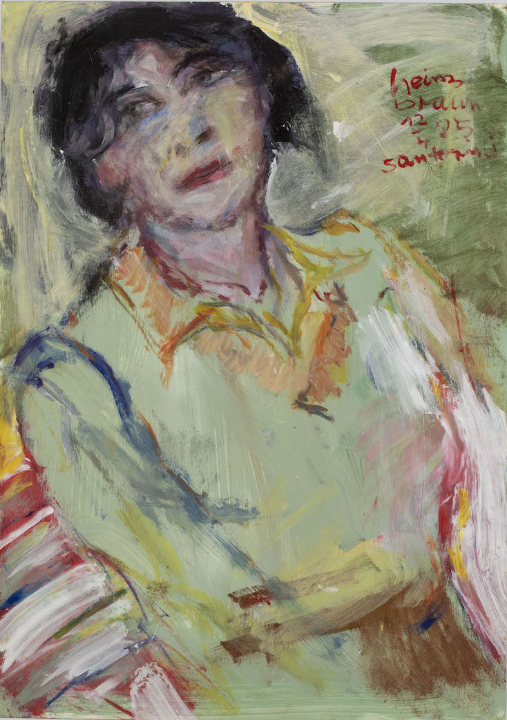 Frau, Santorini, 1985