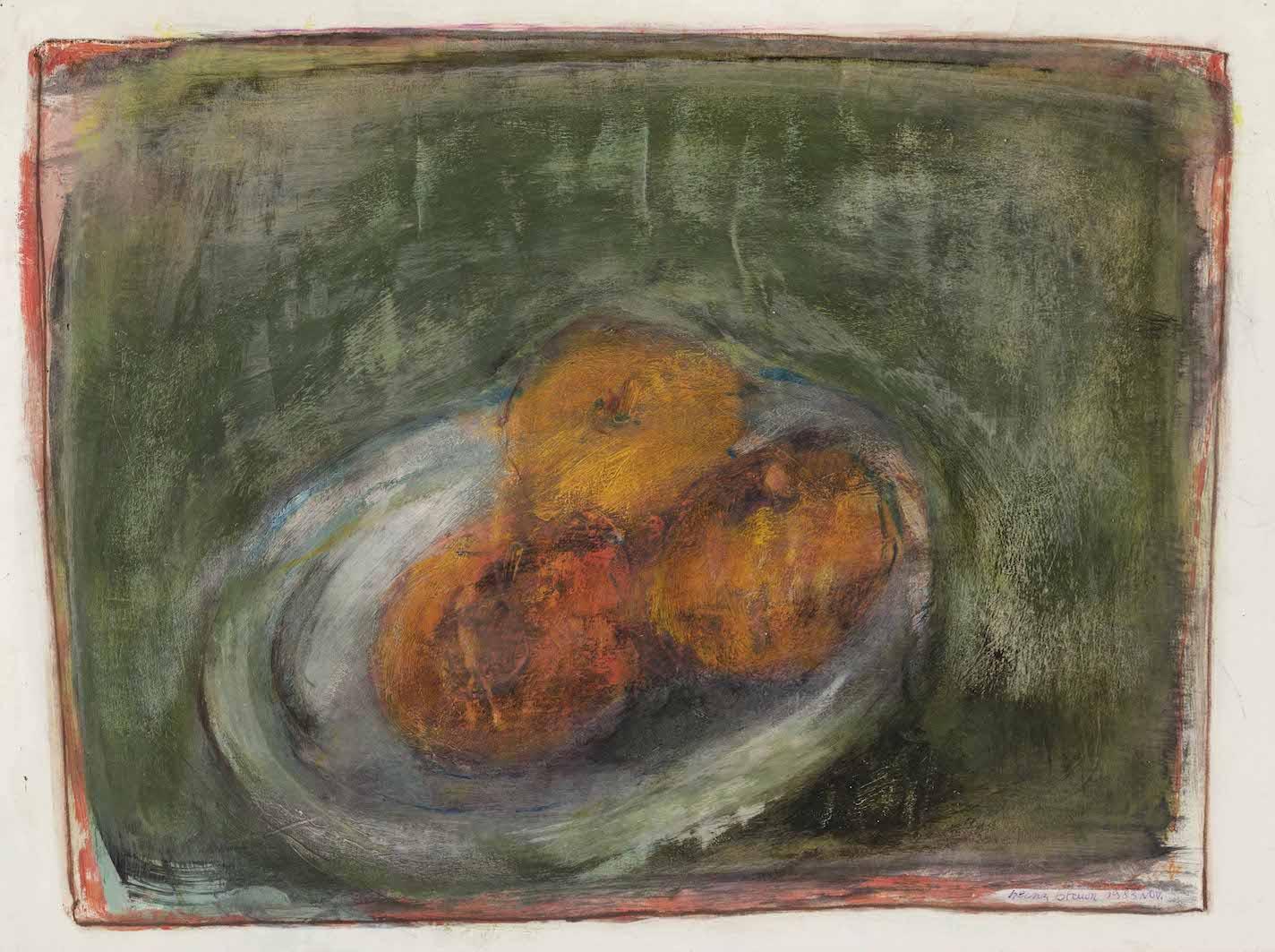 Stillleben mit Äpfeln, 1985