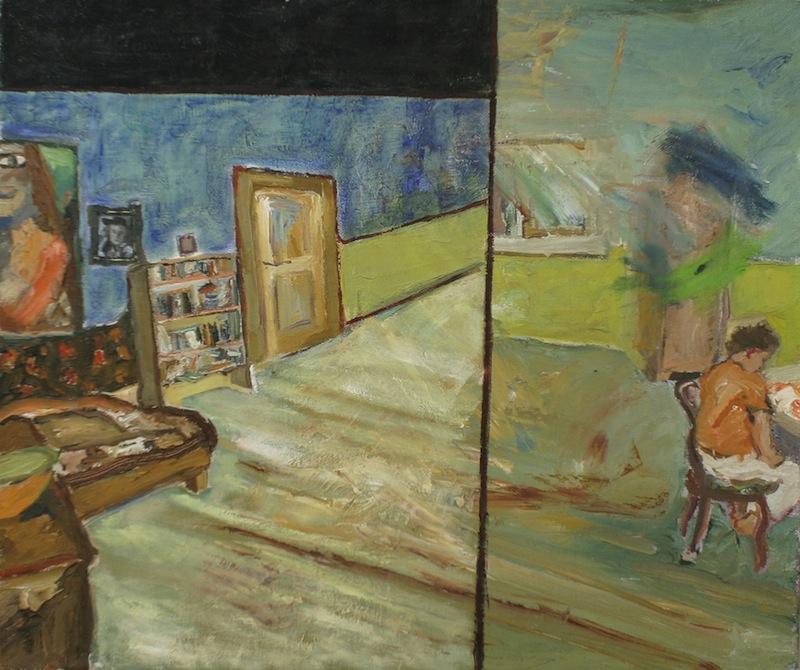 Herbert A. beim<br />Schreiben, 1978
