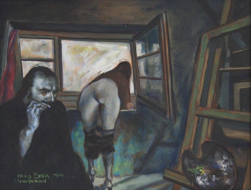 Blaues Bild, 1977