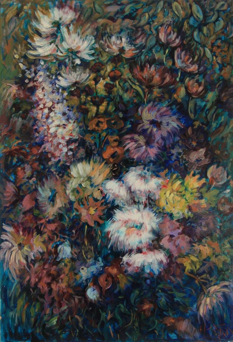Blumen, 1971