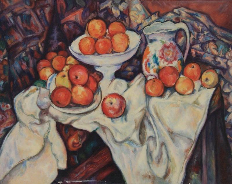 Stilleben nach Cézanne,<br /> ca. 1965