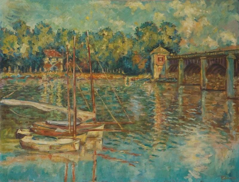 Brücke nach Monet, 1963