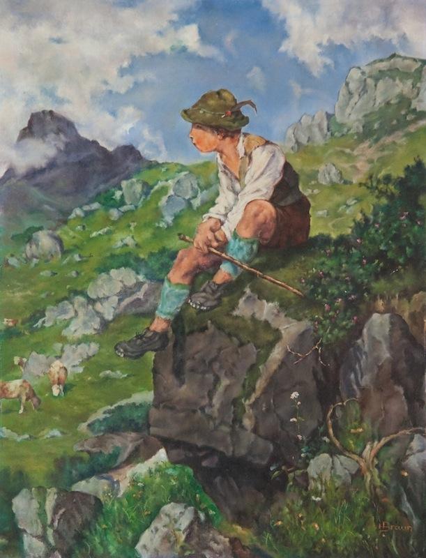 Hütebub nach Fritz<br />Freund, ca. 1955