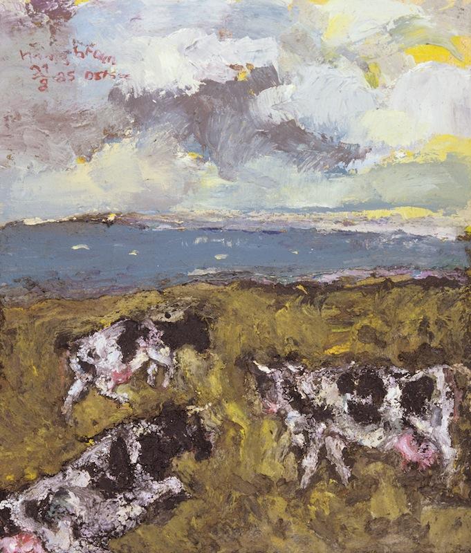Kühe an der Ostsee,<br />1985