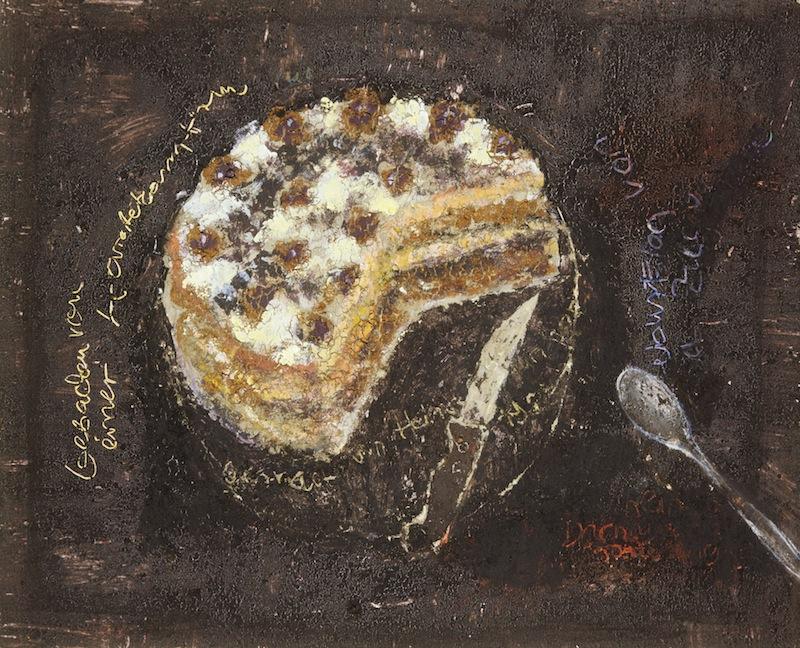 Torte gebacken von einer Karatekämpferin, 1985