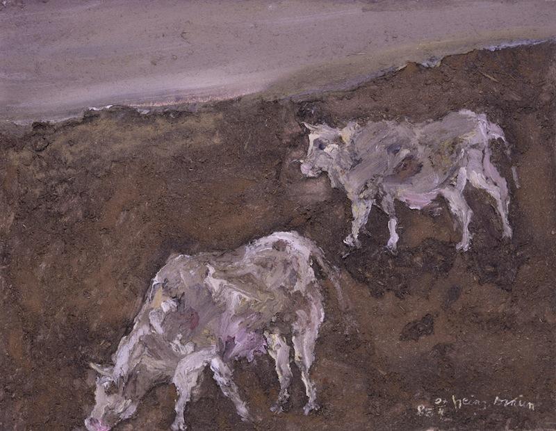 Zwei Kühe, 1985