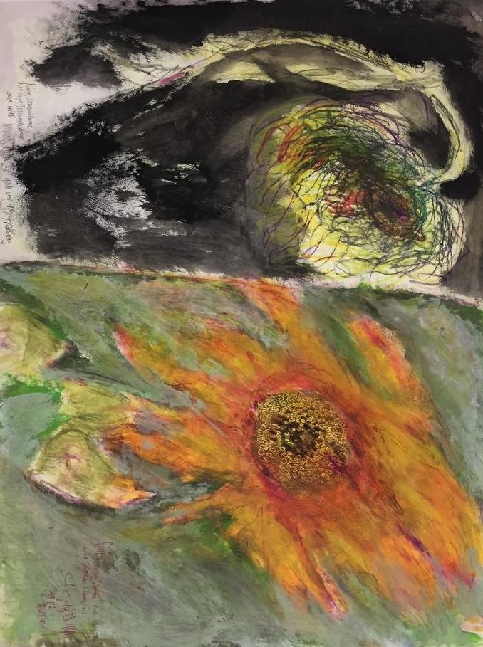Eine Sonnenblume, die keine sein will, 1983
