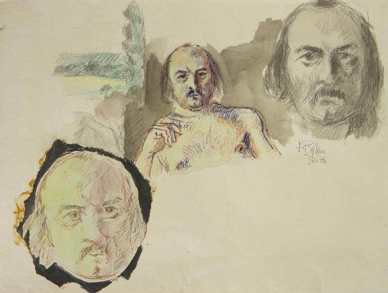 Selbstporträts, 1976