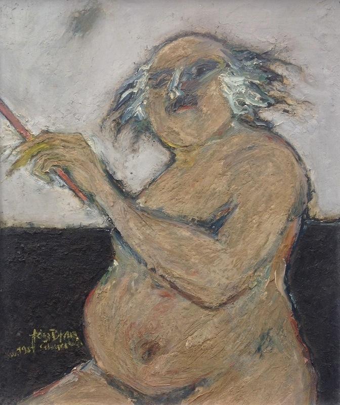Selbstporträt, 1981