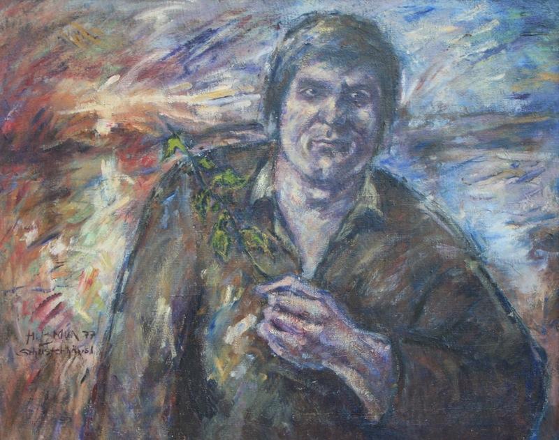 Porträt Josef Bierbichler, 1977