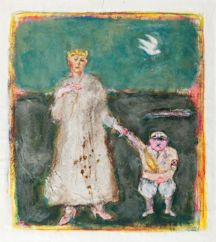 """""""Geschmiegt"""", 1983"""