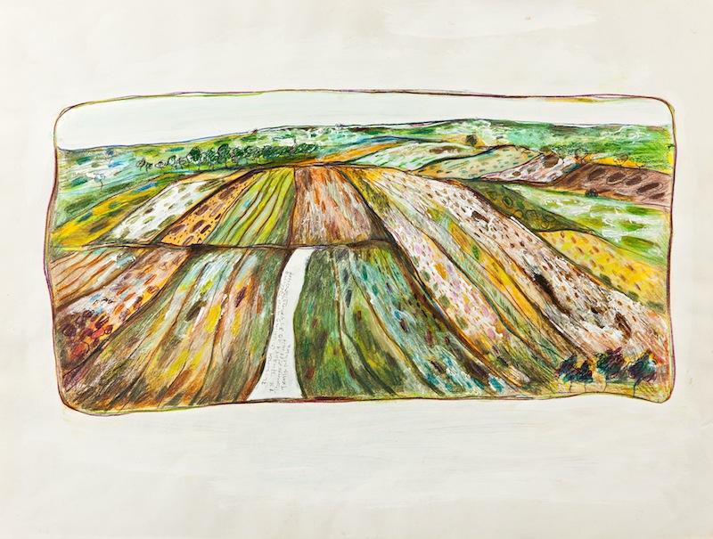 Acker zwischen Germering und Alling, 1981