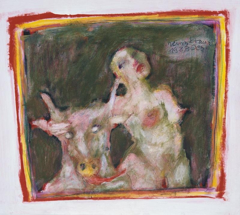 Akt mit Stier, 1983