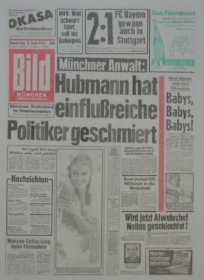 Bildzeitung, 1974