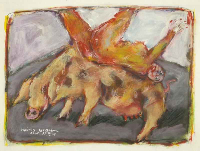 Schwein, 1984