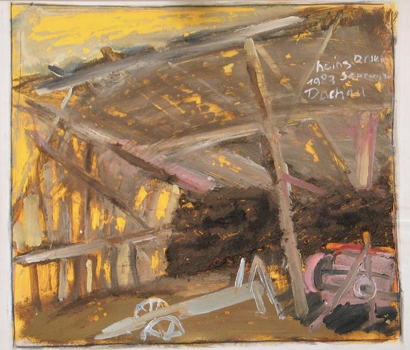 Scheune. 1983