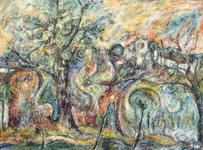 Gekrönte Hügel, ca. 1969
