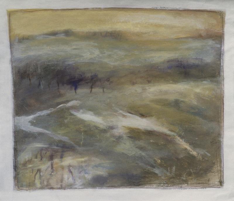 Landschaft bei Inning, 1982