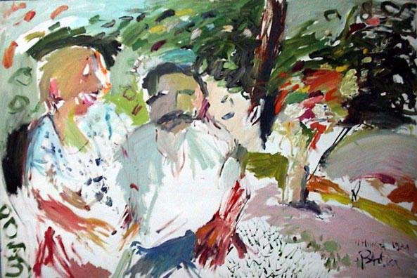 Hochzeitsbild Neff, 1981