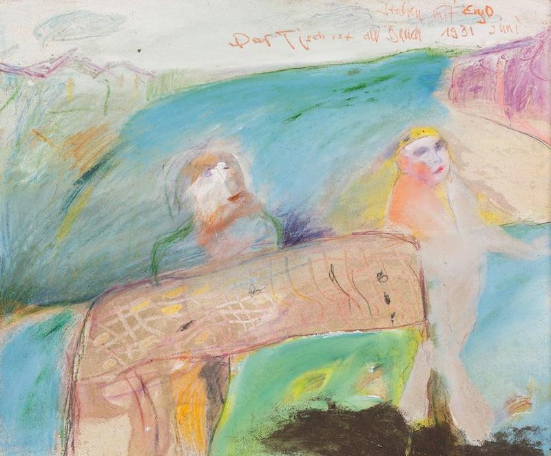 Der Tisch ist der Bauch, <br /> 1981