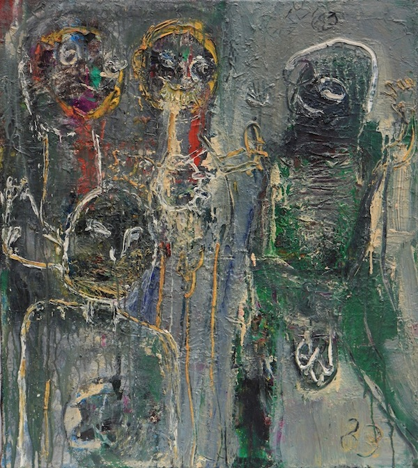 Ohne Titel, 1983<br />Braun/Niggl