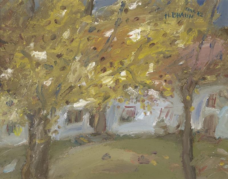 Herbst in Freiham,1982