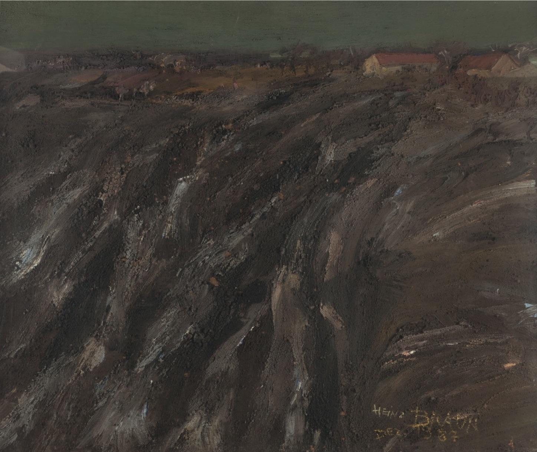 Landschaft bei Alling, 1982