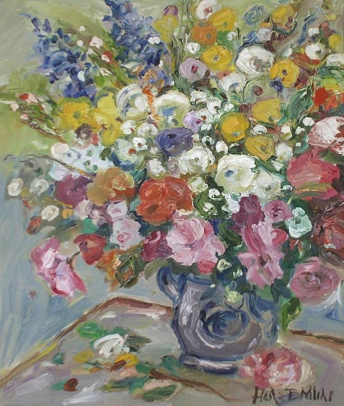 Blumen, ca. 1980