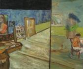 516 Herbert A. beim<br />Schreiben, 1978