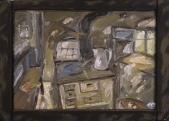498 Kücheninneres, 1980
