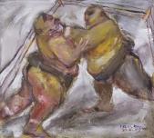 003 Ringkämpfer, 1985
