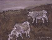 024 Zwei Kühe, 1985