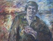 526 Porträt Josef Bierbichler, 1977