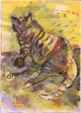 042 Santorinische Katze, <br /> 1985