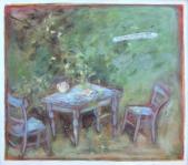 169 Herbst in Roswithas Garten, 1983