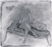 068 Frau mit Katze, 1985