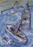 013 Neger im Boot, 1985