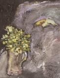 020 Primeln mit Banane, <br />1985