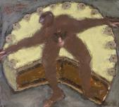 220 Torte mit-Akt, 1983