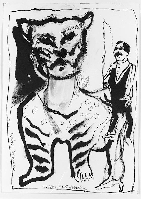 Tiger und<br />Dompteur, 1985