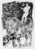 006 Jongleur auf<br />dem Pferd, 1985