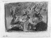 007 Brennende Hüte,<br />1985