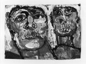 016 zwei Männerköpfe,<br />1985